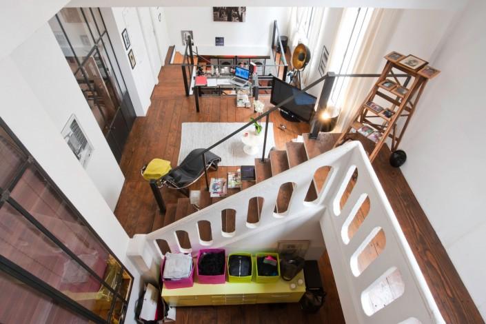 Loft dans un ancien atelier de photographe