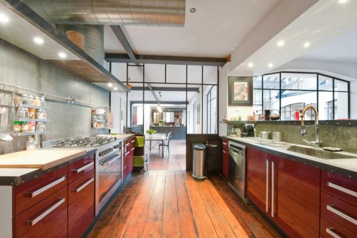 Loft dans un ancien atelier de photographe - Cuisine