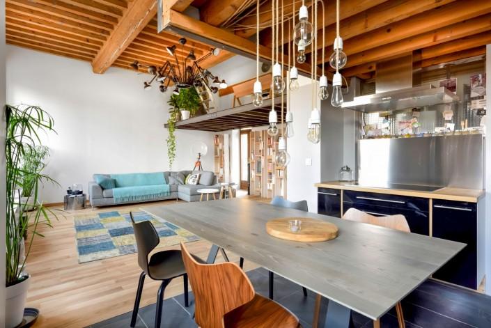 Loft d'architecte - Cuisine