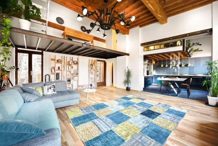 Loft d'architecte - Salon