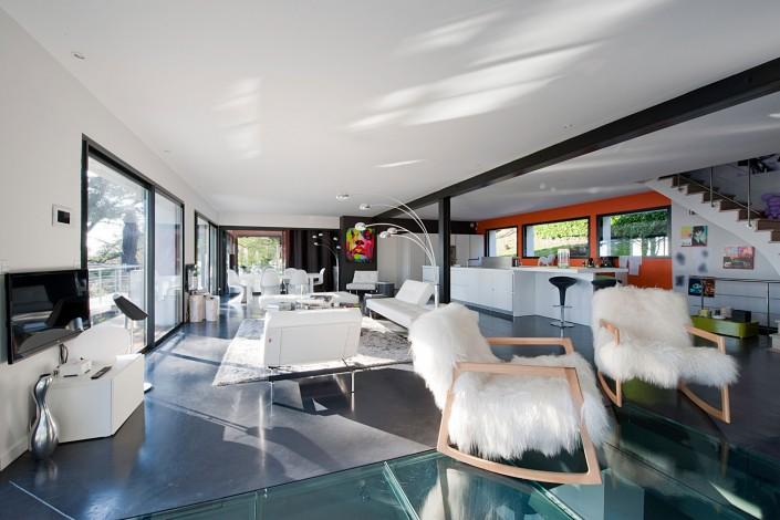 Maison d'architecte - Salon