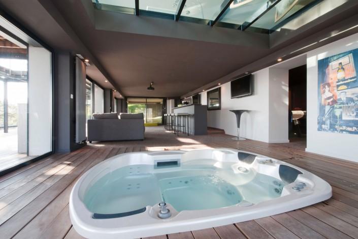 Maison d'architecte - Jacuzzi