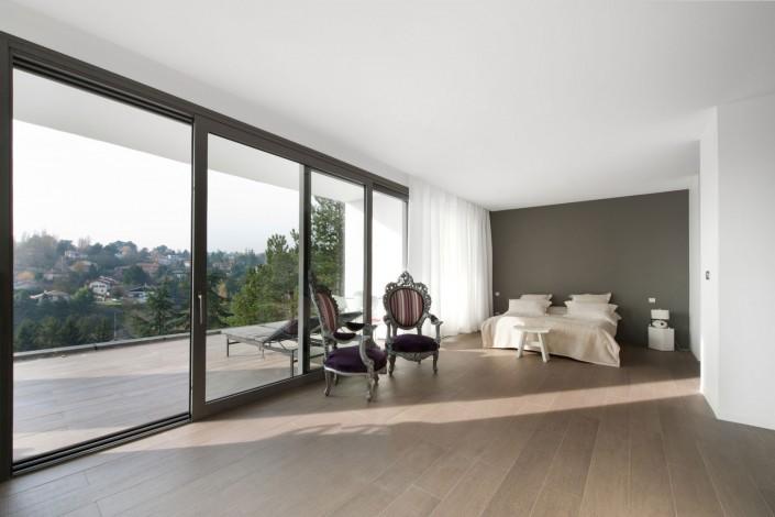 Maison d'architecte - Chambre à coucher