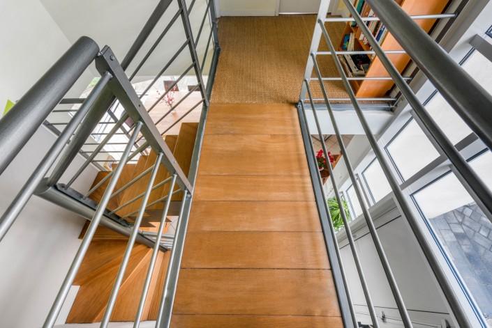 Maison contemporaine en duplex - Escaliers