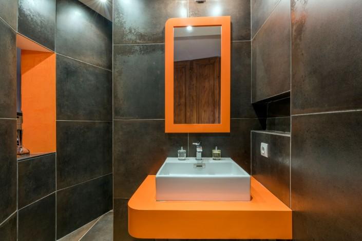Maison loft en triplex - Salle d'eau